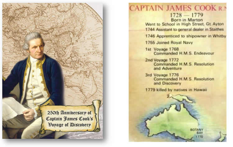 Captain James Cook - Woking Arts Society Lecture