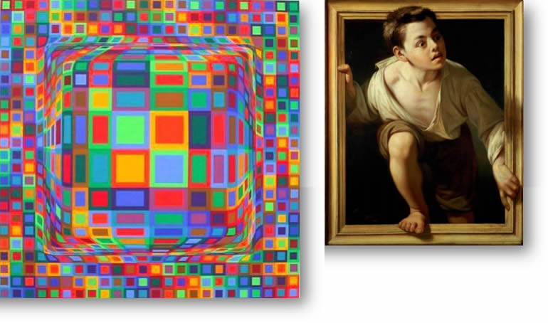 WOKING DFAS LECTURE: THE ART OF PERCEPTION - NOW YOU SEE IT, NOW YOU DON'T